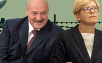 Litavska premijerka i bjeloruski predsjednik - montaža 'Visegrad insight'